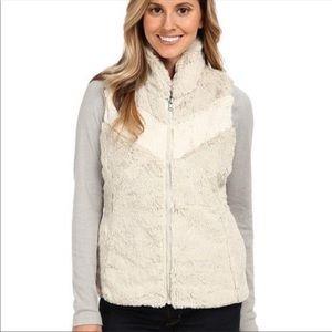 Patagonia Pelage White and Cream Vest